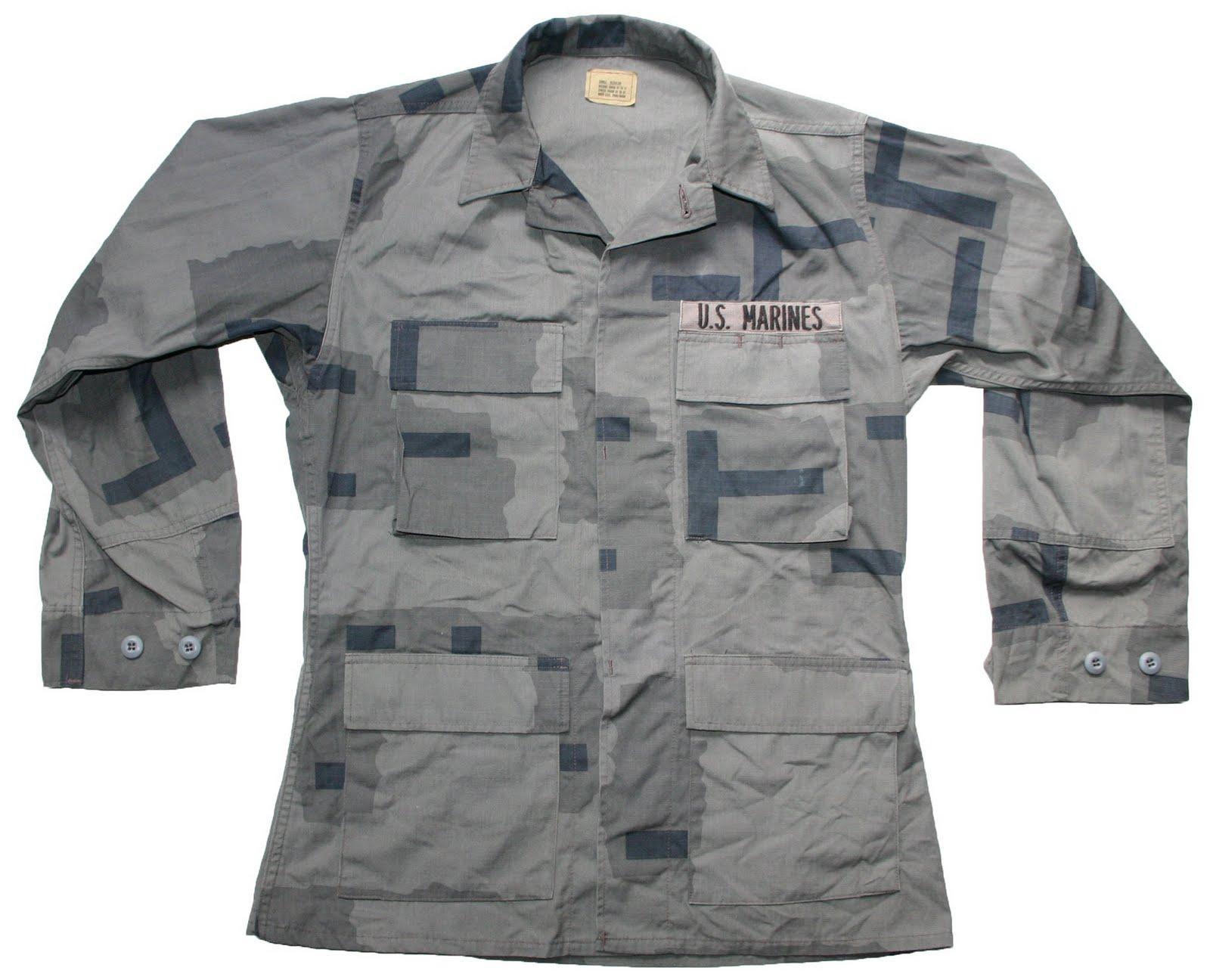 Experimental T pattern BDU Jacket USMC Disruptive