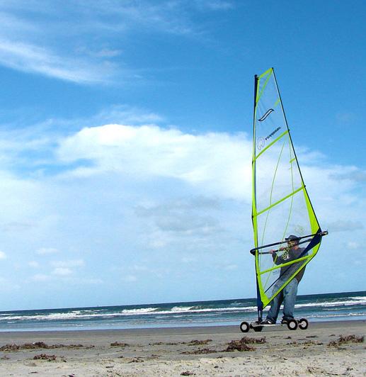 All Terrain Tires >> Land windsurfing - Wikipedia