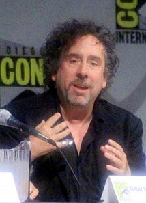 Tim Burton at ComicCon 2009