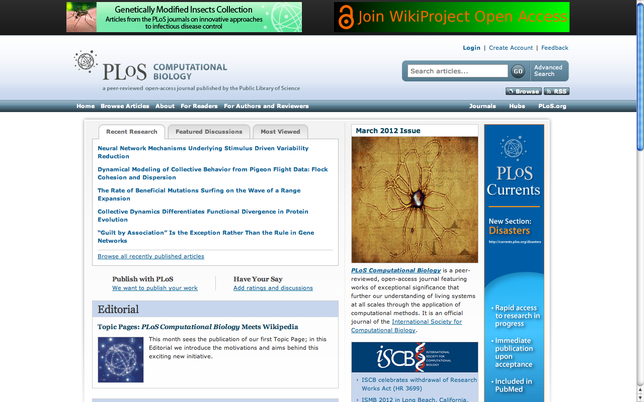 File:Topic Page Editorial On PLoS Comp Biol Homepage.png
