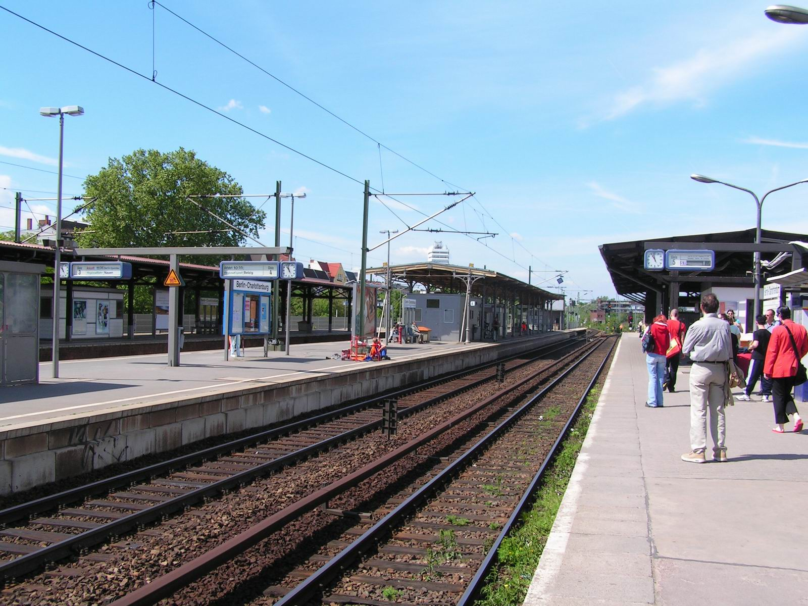 how tall is station platform