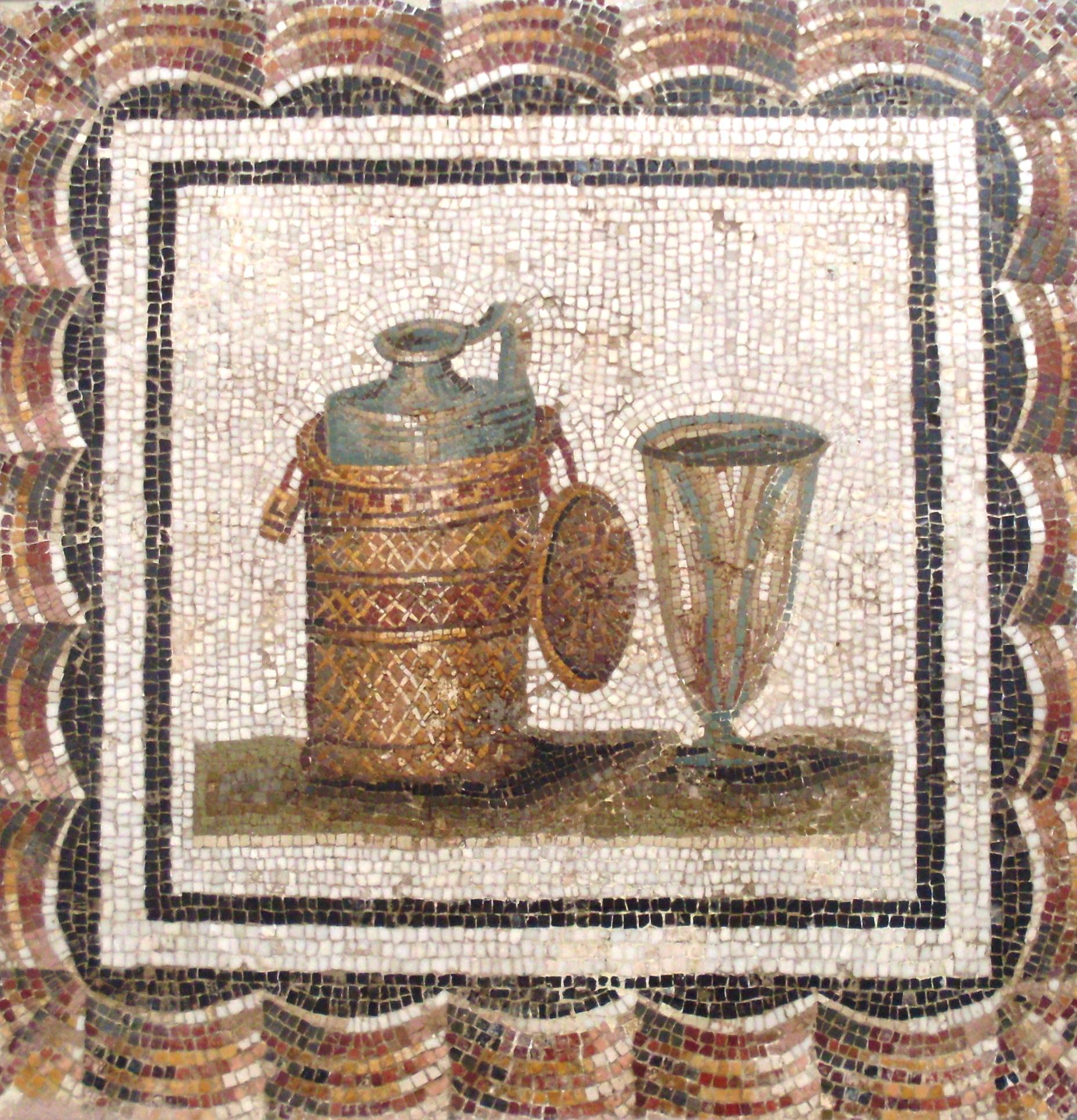Римляне и вино