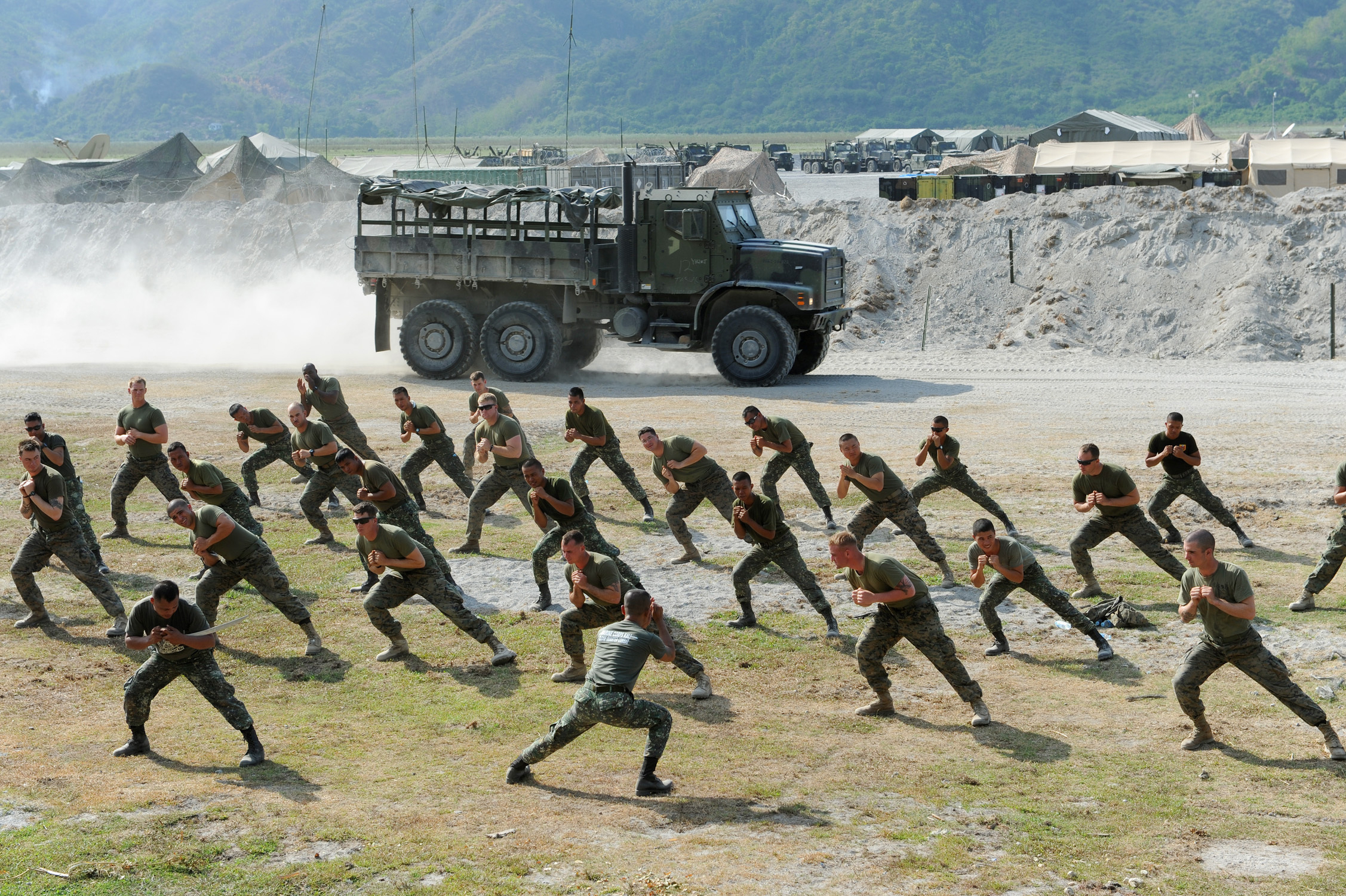 File:Two Philippine marines demonstrate defensive tactics ...