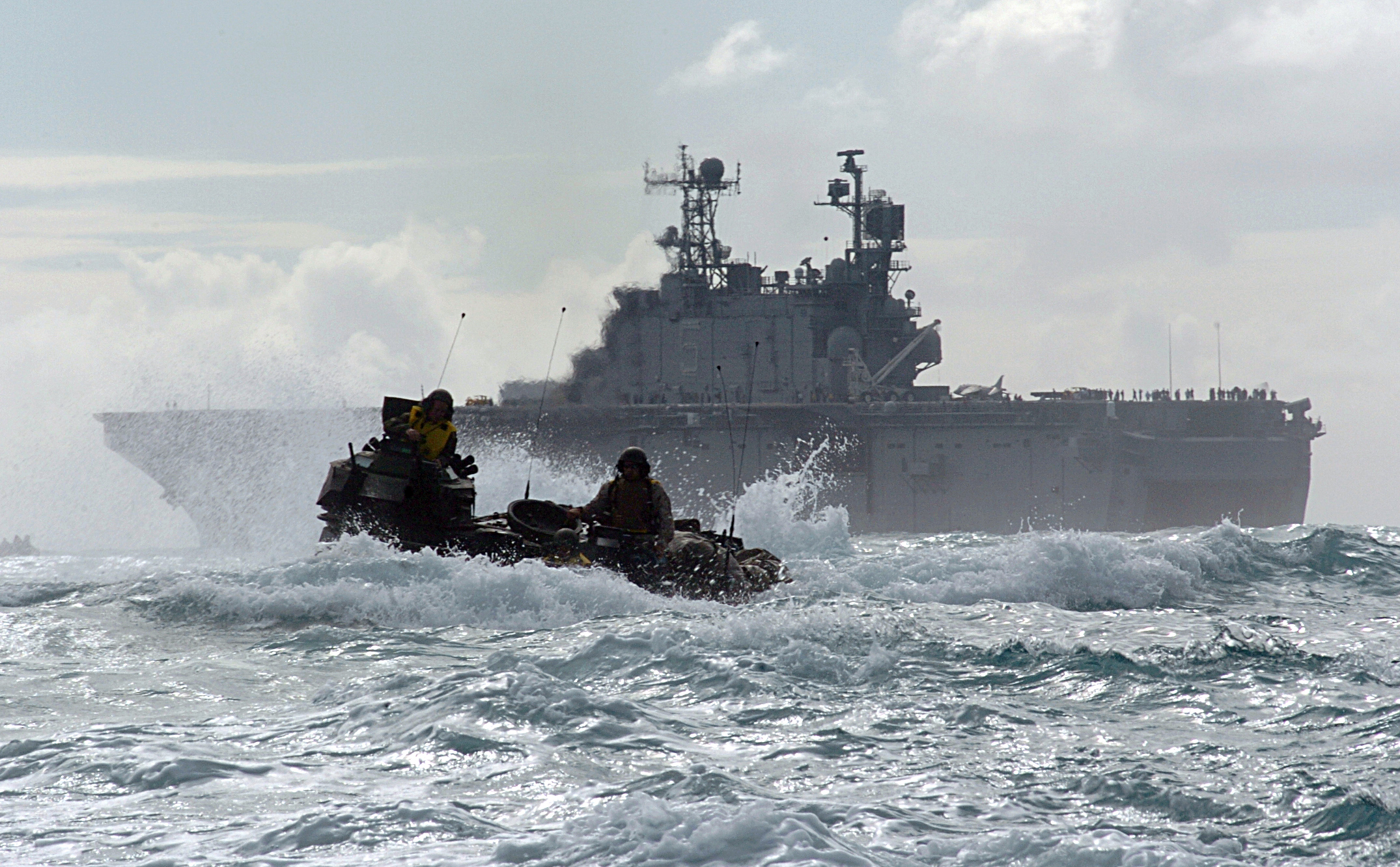 amphibious assault essay from history sea warfare