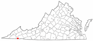 National Register of Historic Places listings in Bristol, Virginia