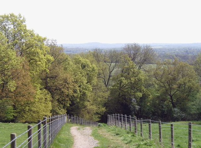 View from the Vanguard Way footpath - geograph.org.uk - 788322