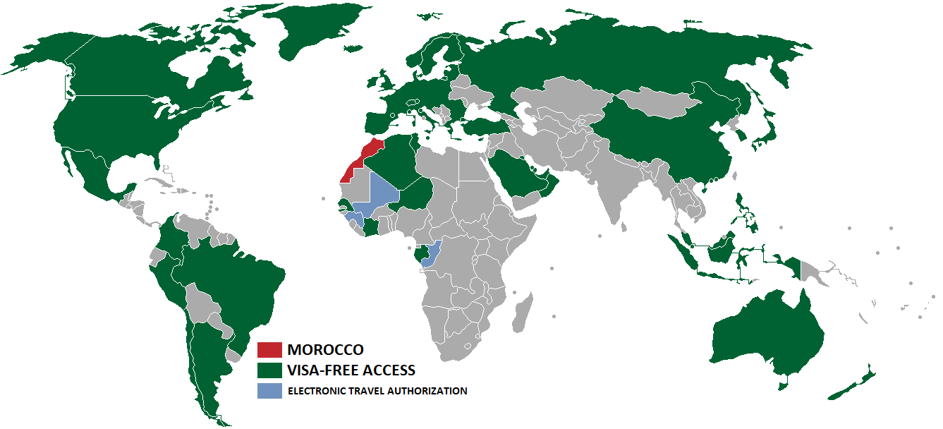 File Visa Policy Of Morocco Png Wikimedia Commons