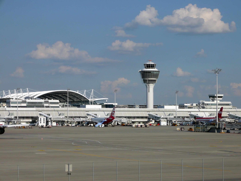 """Der Münchner Flughafen """"Franz Josef Strauß"""""""