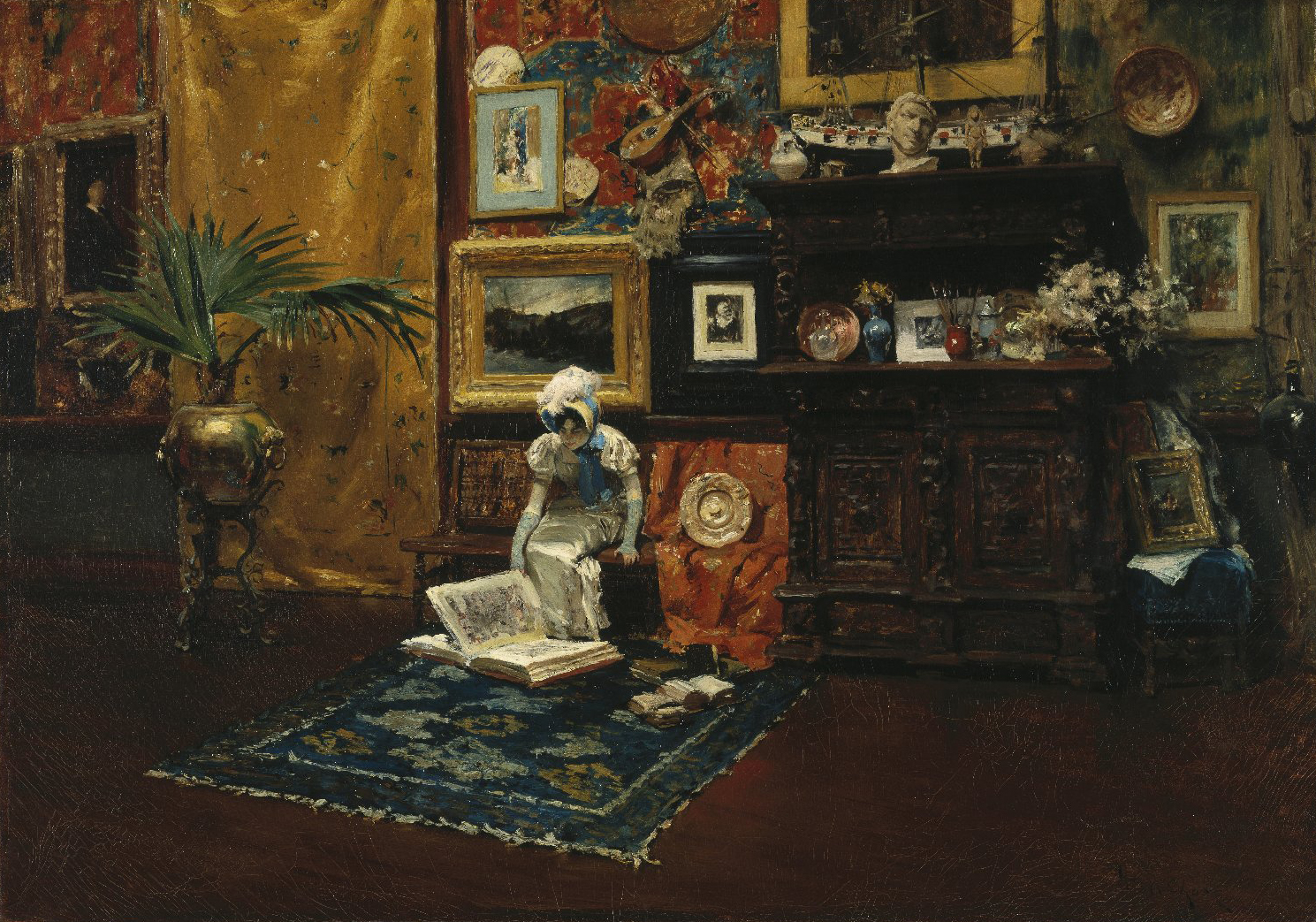 an analysis of the tenth street studio by william merritt chase Interior of the artists studio aka the tenth street - william merritt chase interior of the artists studio aka the tenth street - william merritt chase.
