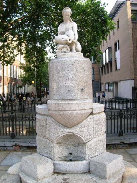 Cecil Beaton's war photography Water_feature%2C_Guilford_Place_WC1_-_geograph.org.uk_-_1324656