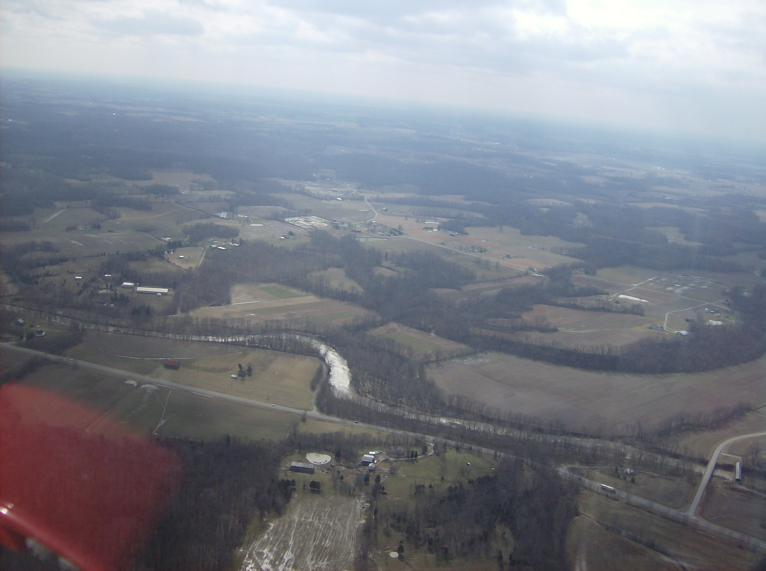 File:White Oak Creek in Scott Township, aerial view.jpgoak creek township