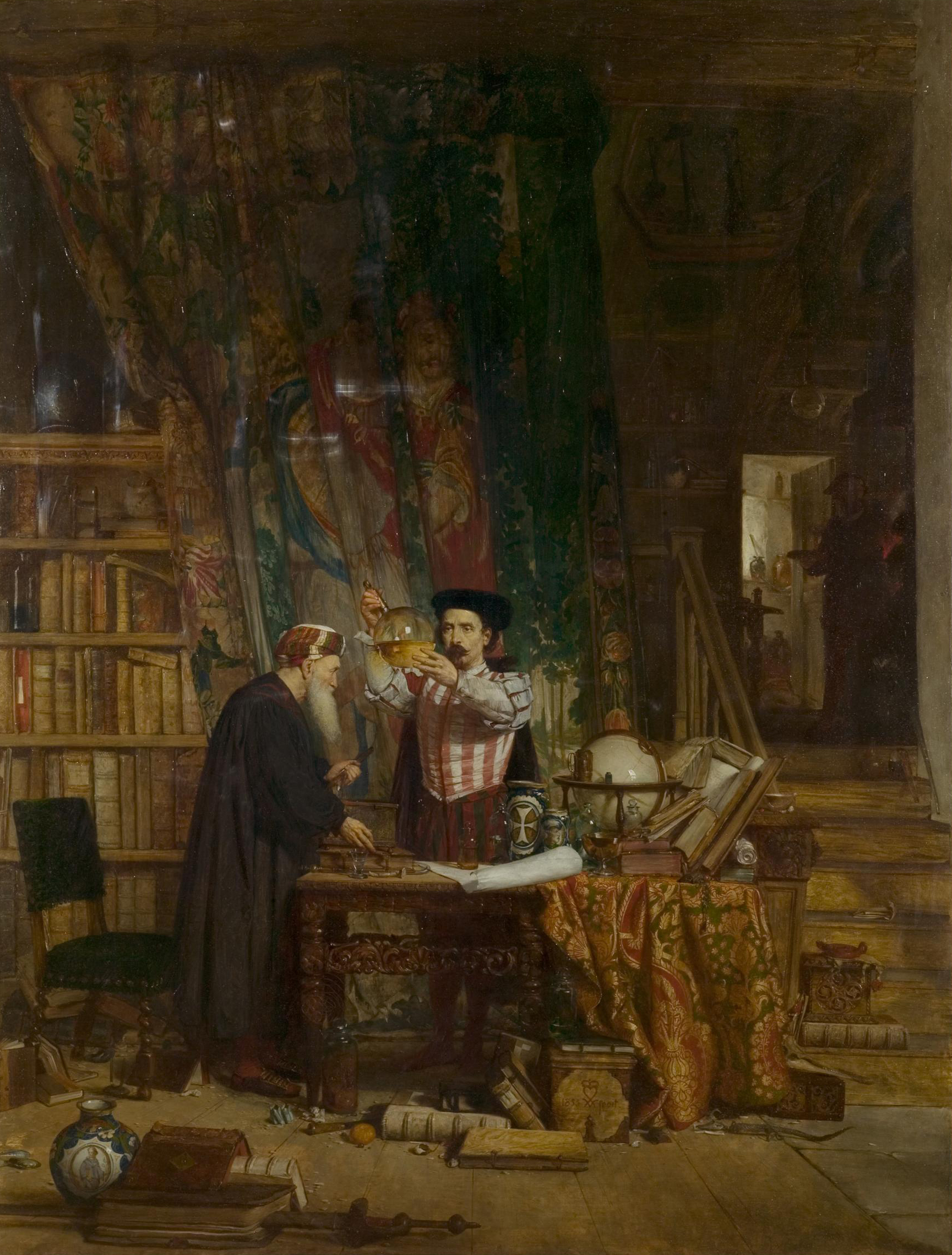 The Alchemist by William Fetter Douglas, 1853.
