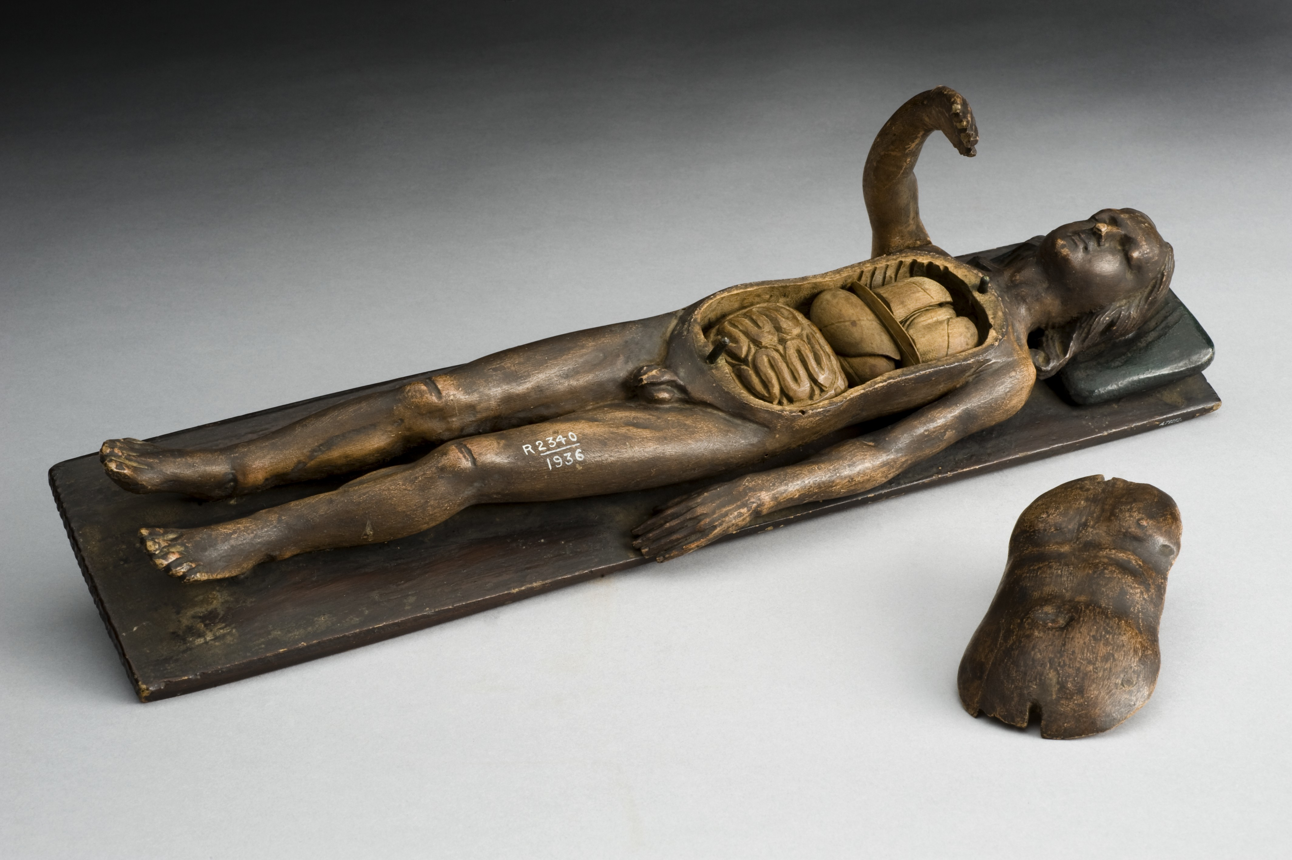 Filewooden Male Anatomical Figure Europe 1601 1700 Wellcome