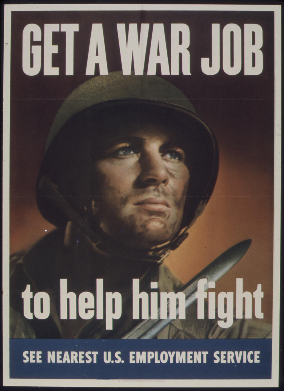 WWII Propaganda for Women to Work