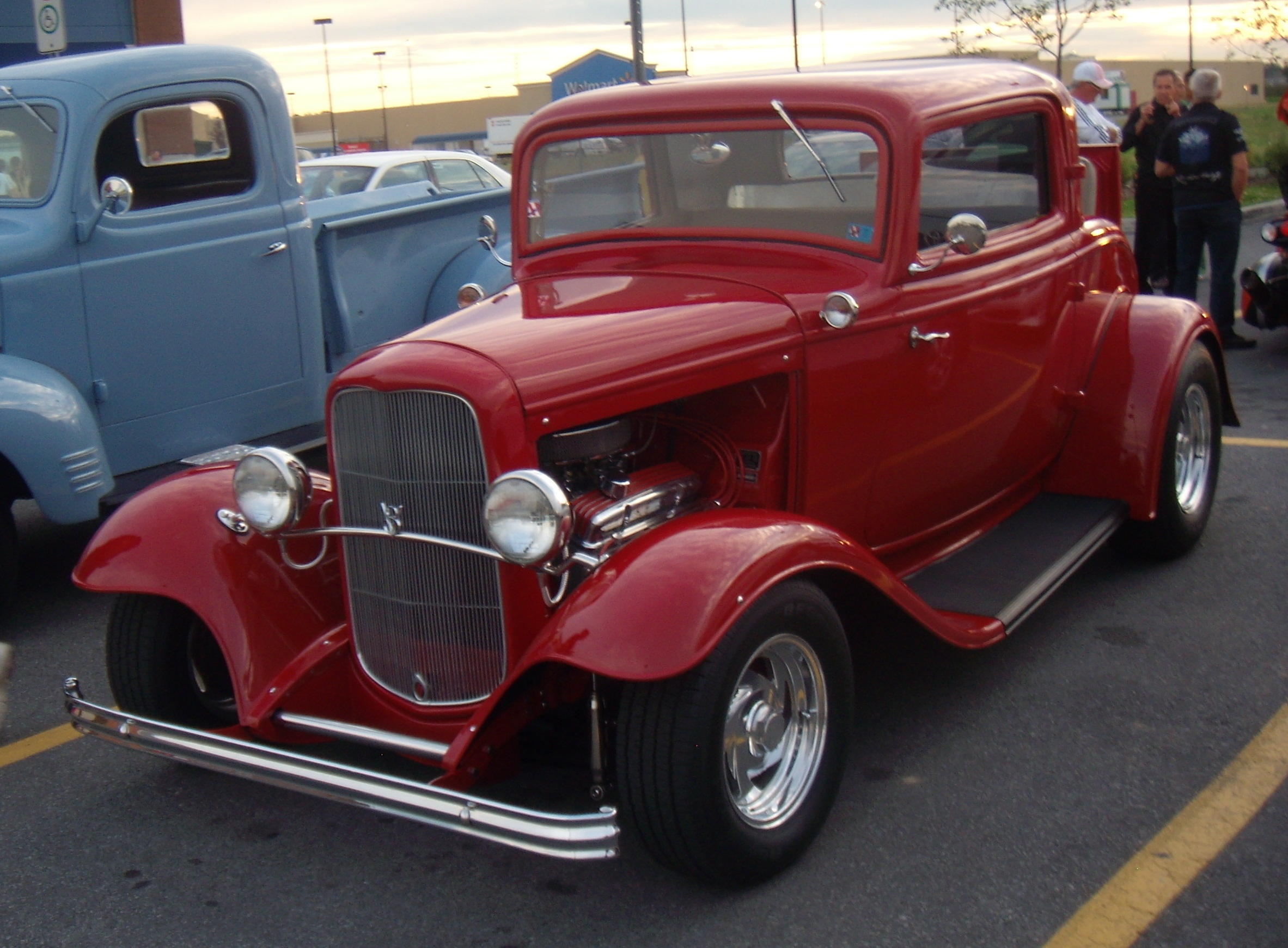 32 Ford Coupe For Sale Craigslist >> File:'32 Ford Model B V8 (Auto classique Bellepros Vaudreuil-Dorion '11).JPG - Wikipedia