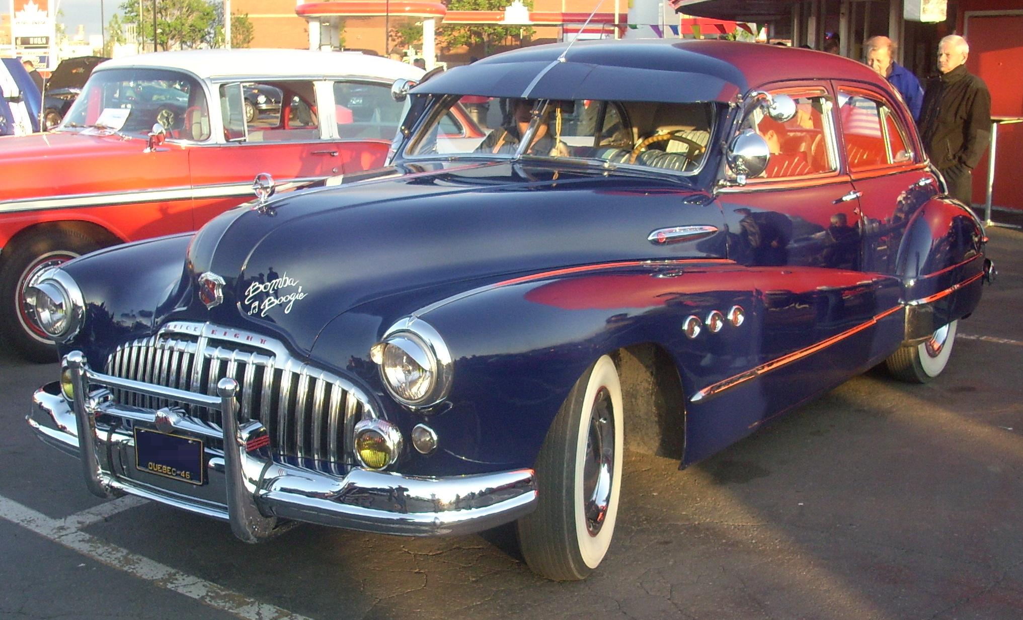 Buick Super Wikipedia 1951 Convertible 51 4 Door Sedan 1946