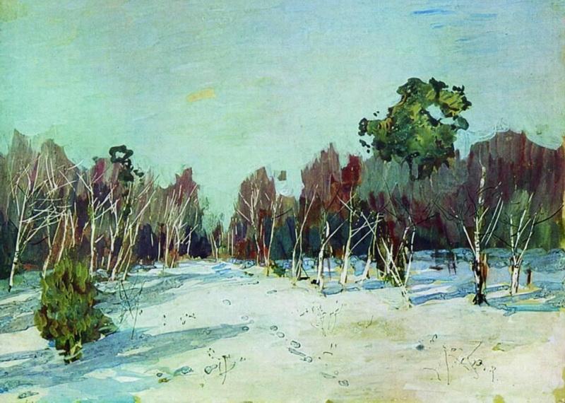 File:Левитан Сад в снегу.jpg