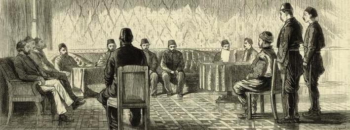 1879 Ottoman Court from NYL Για τους Οθωμανούς το όνομα Τούρκος αποτελούσε υποτιμητικό όρο και προσβολή