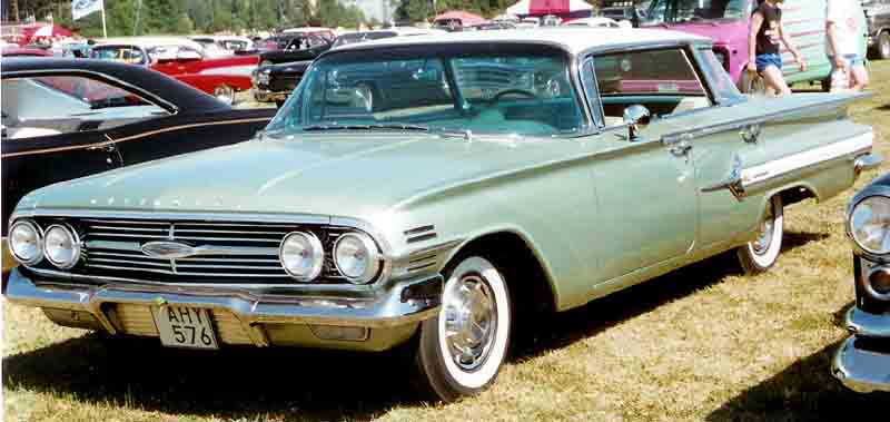 1960 Chevrolet Impala 4-Door HT AHY576