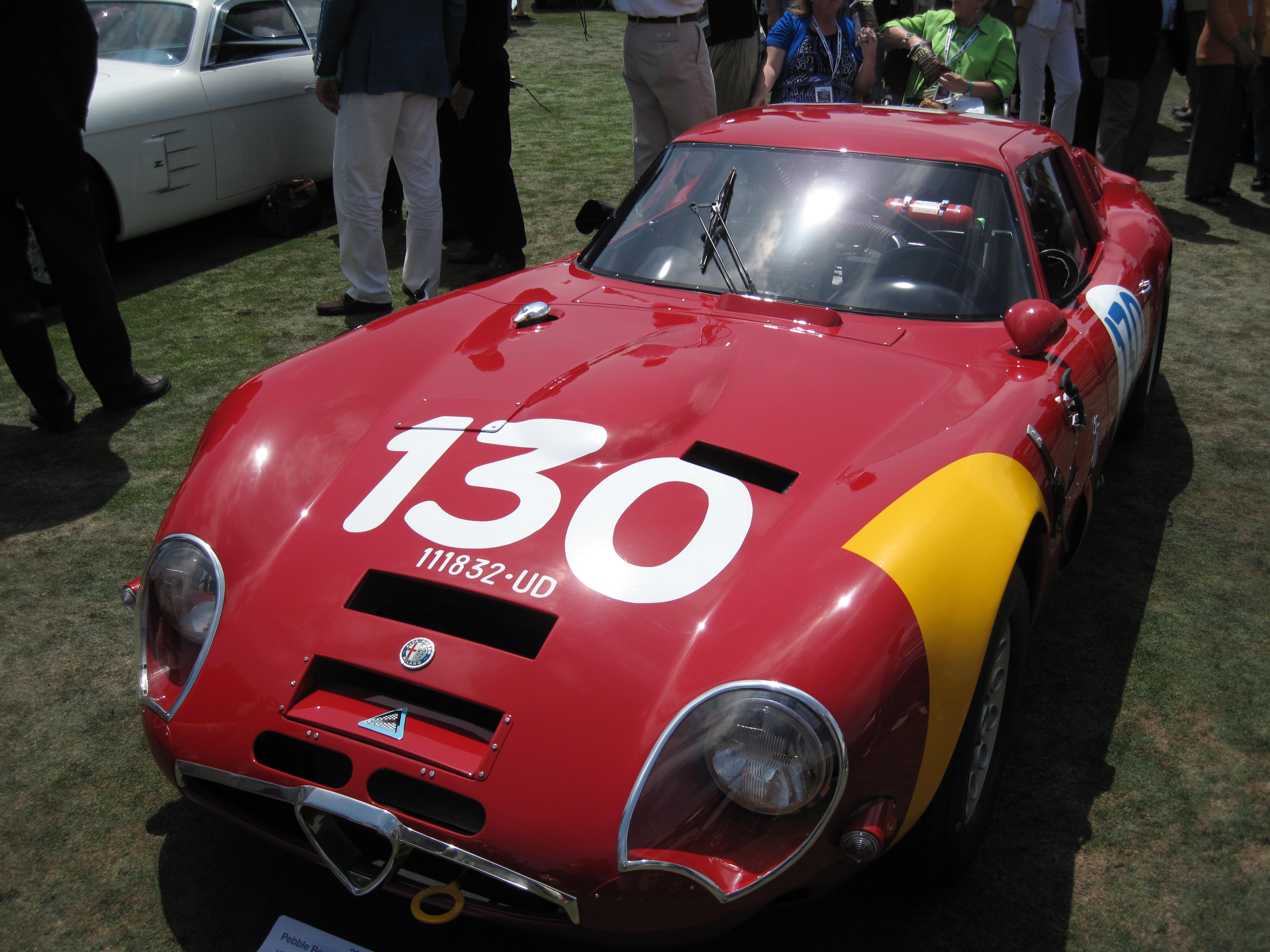 File1965 Alfa Romeo Giulia TZ2jpg  Wikimedia Commons