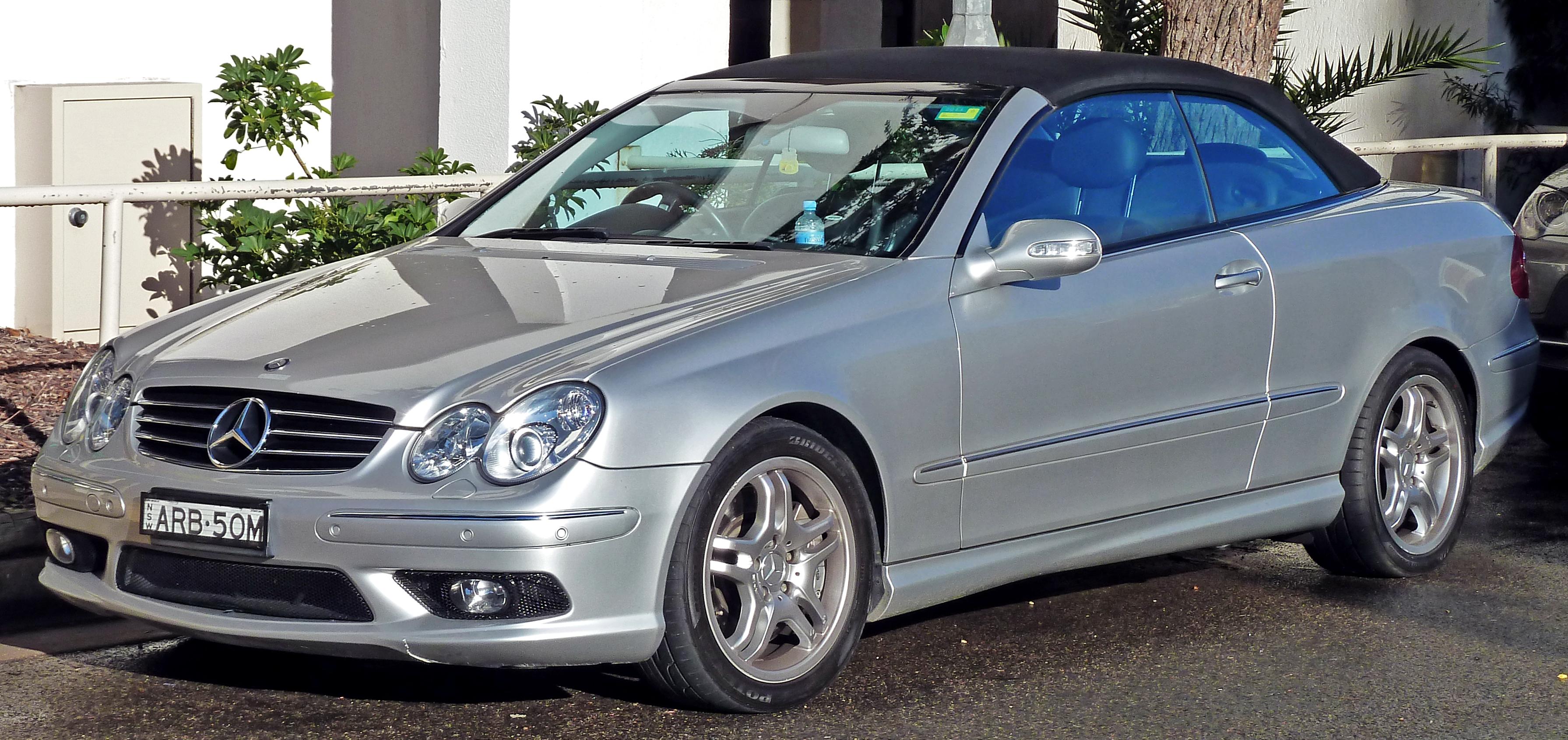 File 2004 Mercedes Benz Clk 55 Amg A 209 Convertible 2010