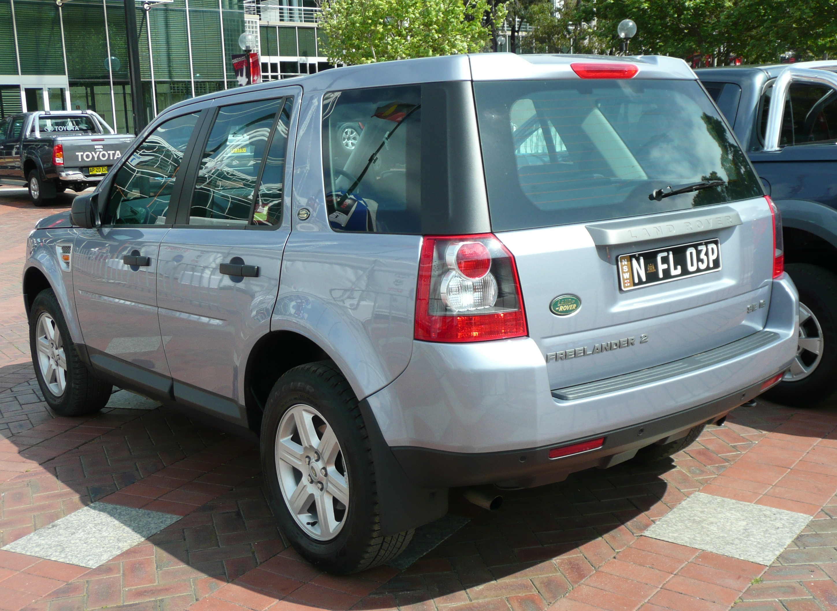file 2007 land rover freelander 2 lf se i6 wagon wikimedia commons. Black Bedroom Furniture Sets. Home Design Ideas