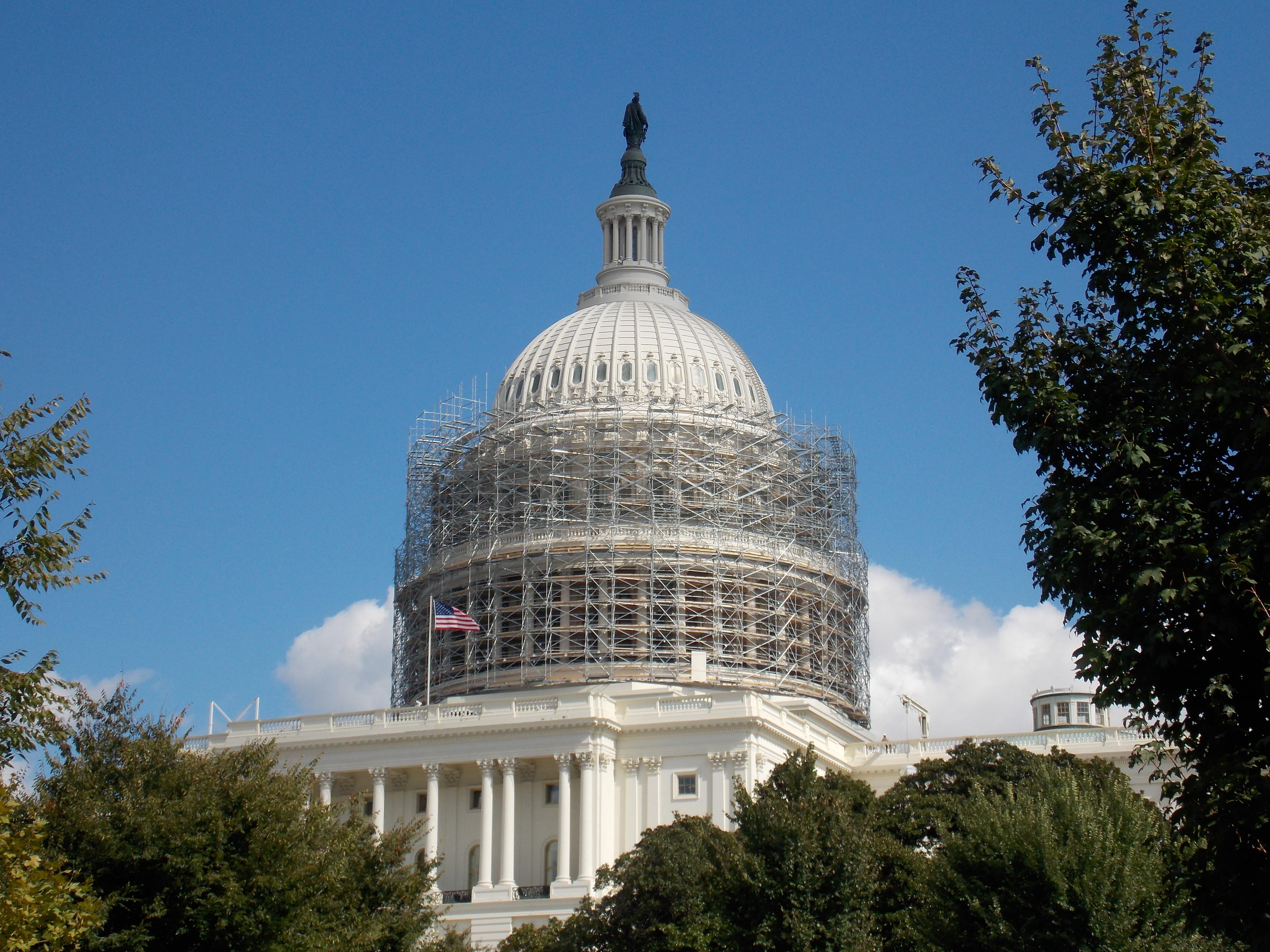 Capitol Building Scaffolding : U s capitol press links
