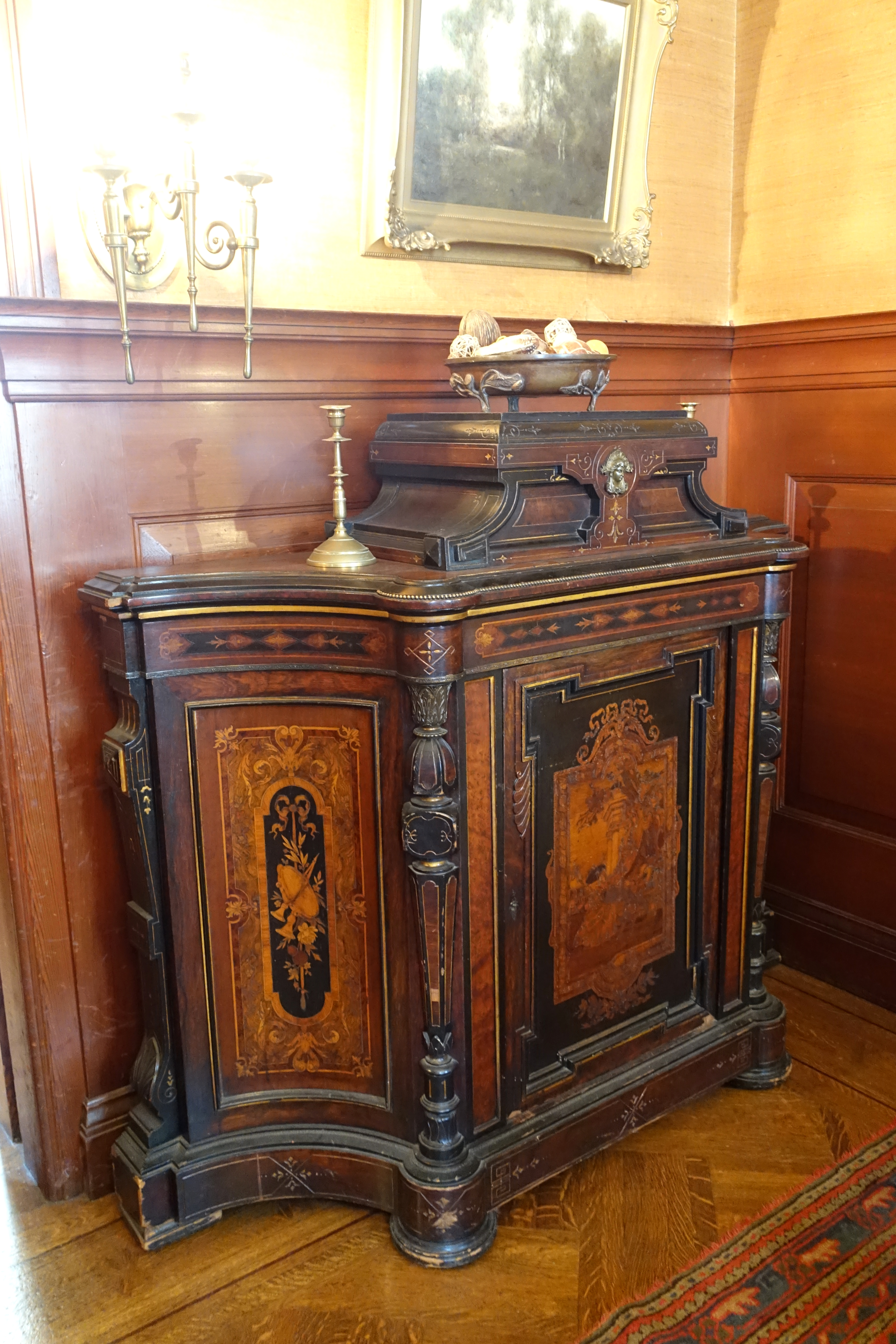 File 2nd parlor furniture Haas Lilienthal House San