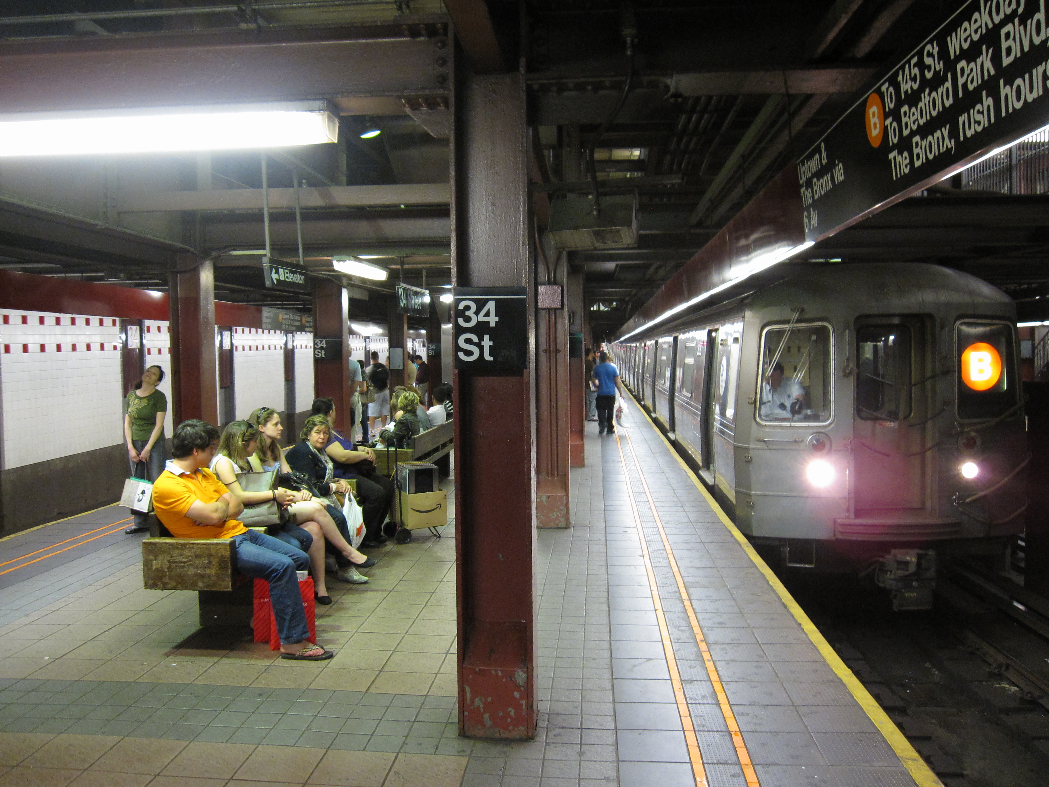 Th Street Herald Square Station And Mexican Food