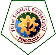 701st (PHILCOM) Signal Battalion (Reserve) Unit Seal