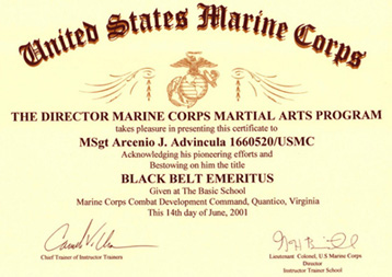 martial arts certificate maker