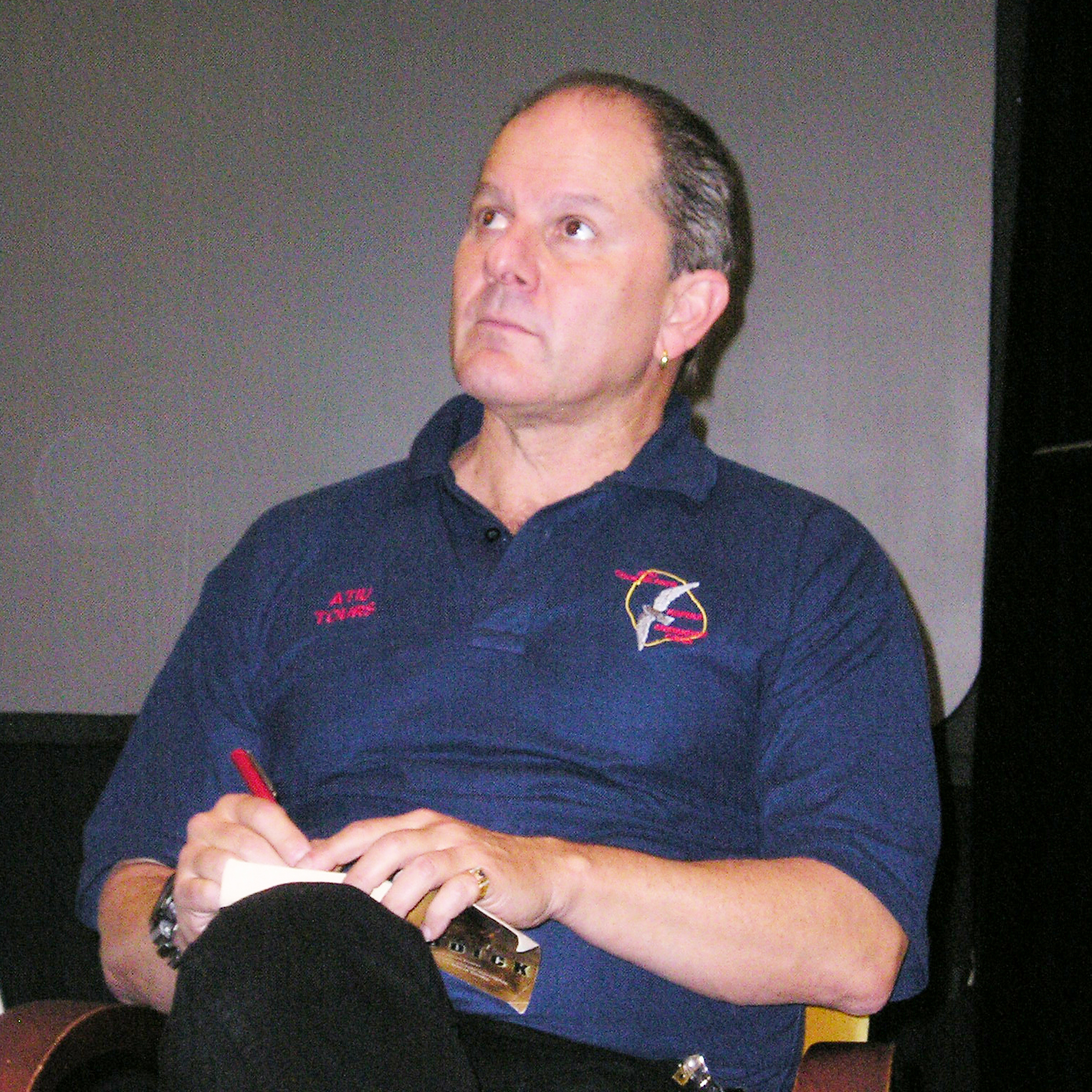 Foster at [[BayCon]] in 2007