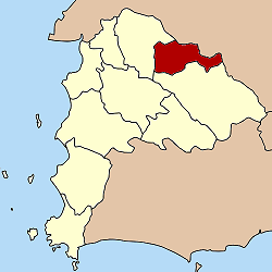 Amphoe location in Chonburi Province