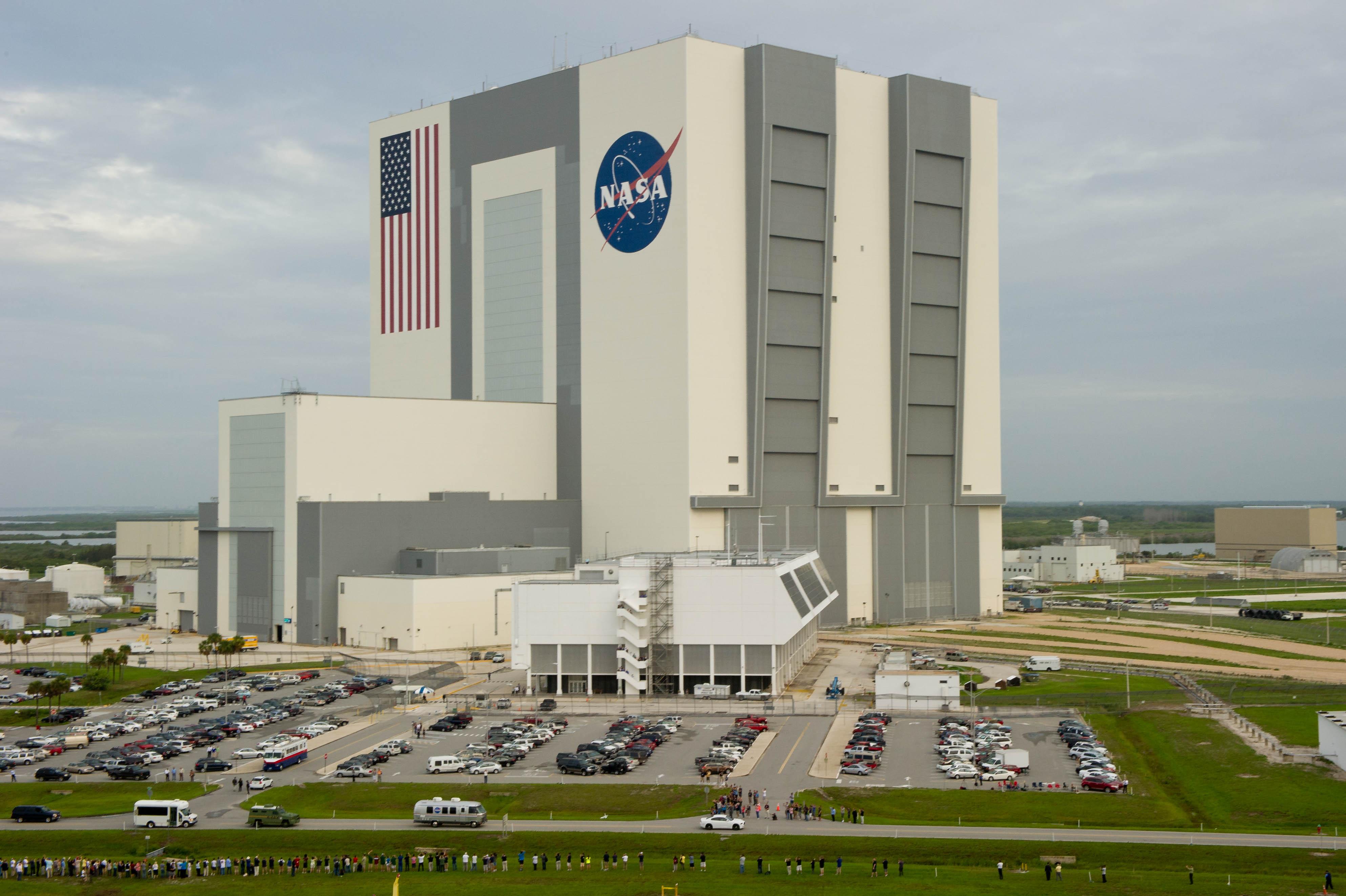 Nasa Vehicle Assembly Building Tour