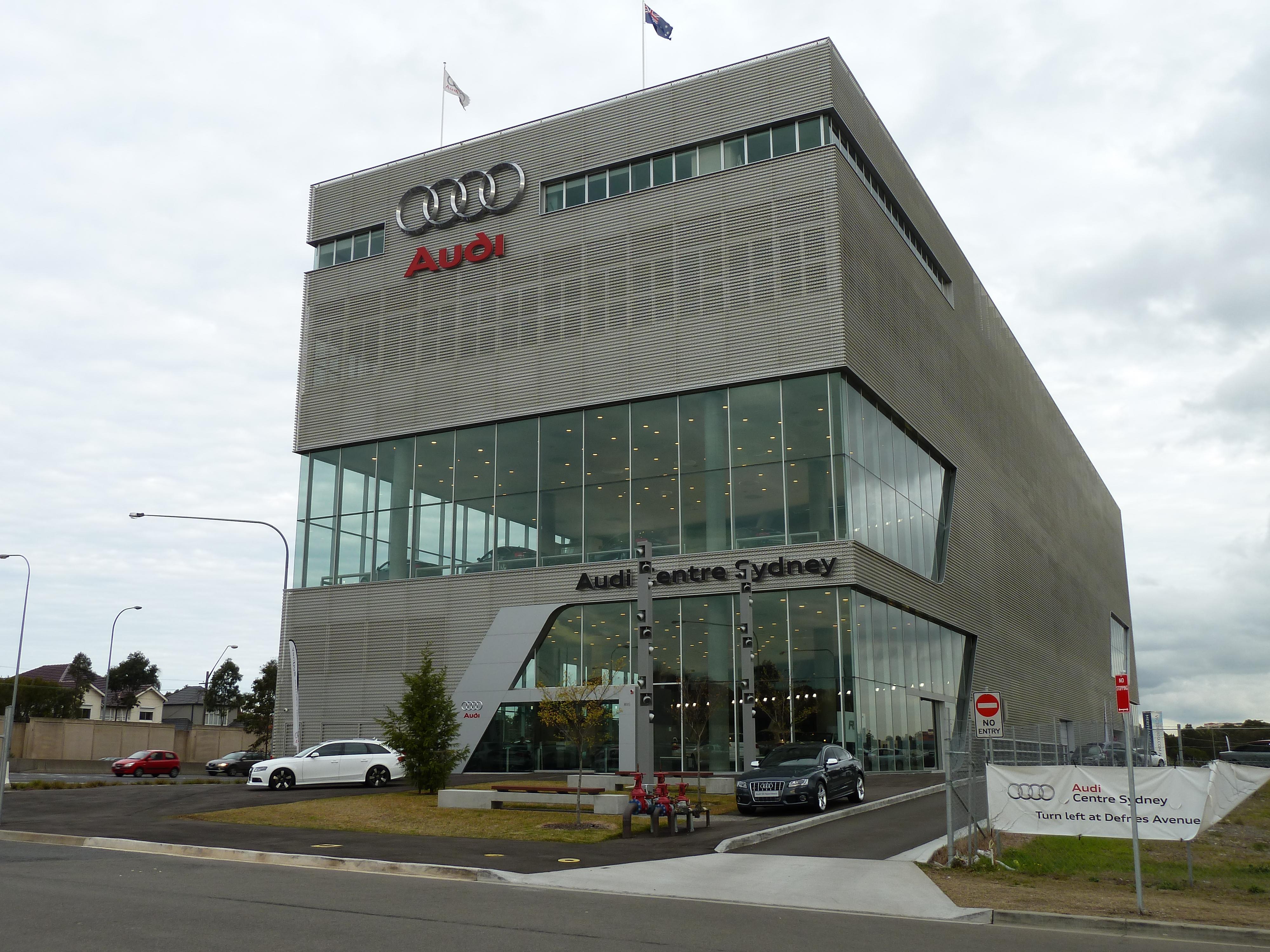 File Audi Centre Sydney Zetland New South Wales 2010 07