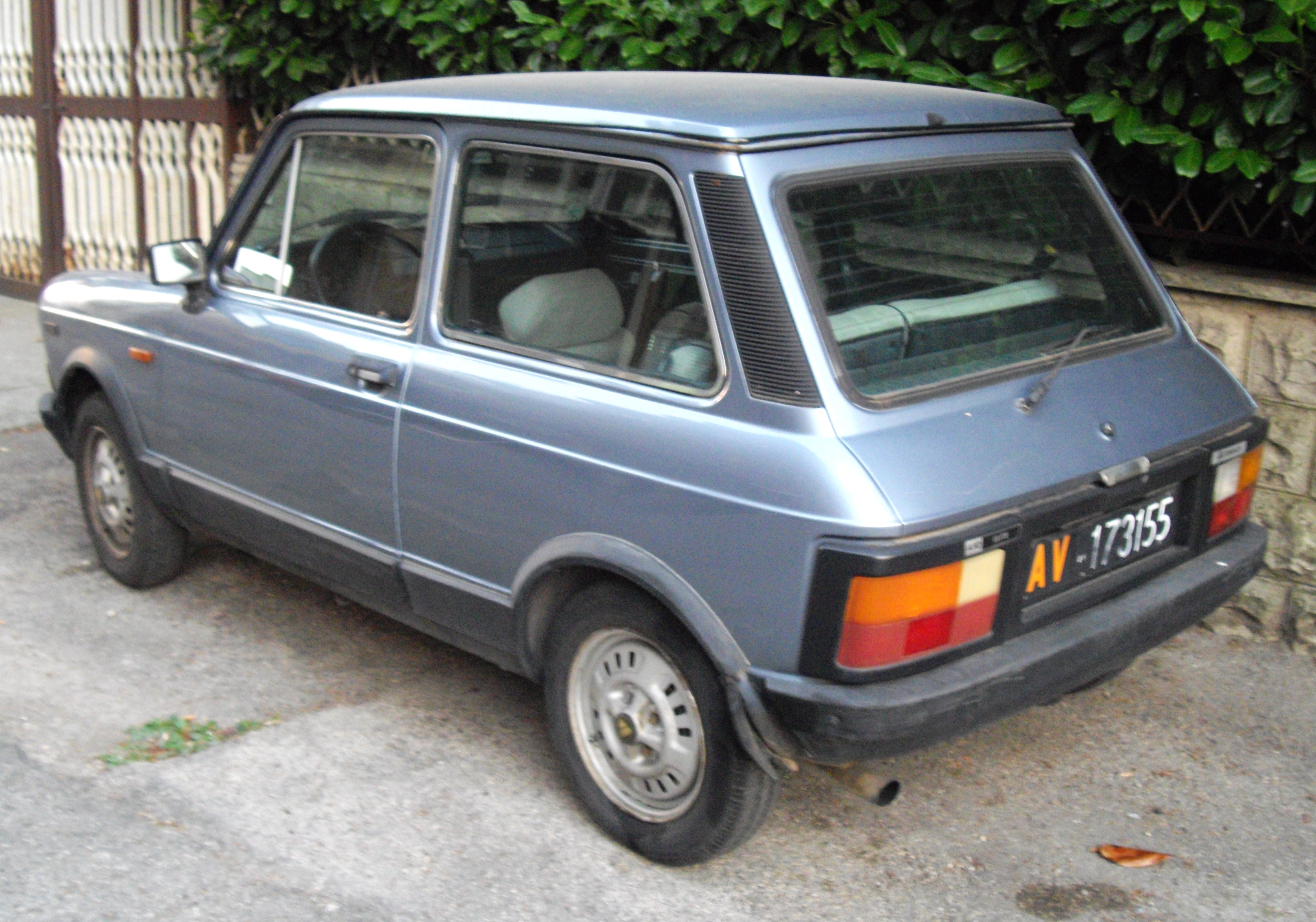 Description Autobianchi A112 Elite rear.JPG