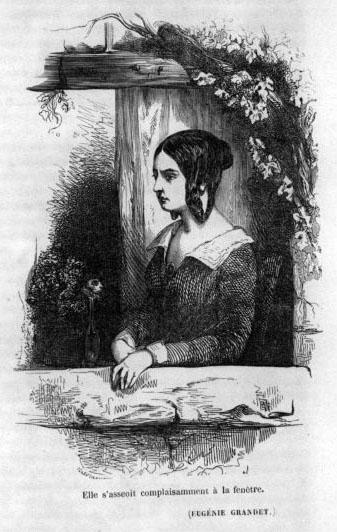 Иллюстрация к роману «Евгения Гранде». ПСС, 1855, т.5