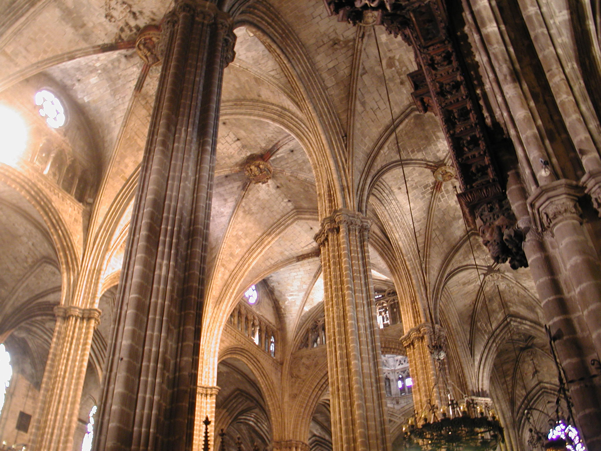 En compostela marzo 2012 for Catedral de barcelona interior