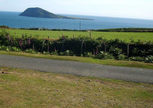 Bardsey Island from Mynydd Mawr - geograph.org.uk - 1215161