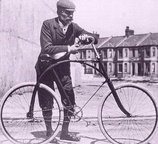 Image result for cycling 1890s britain