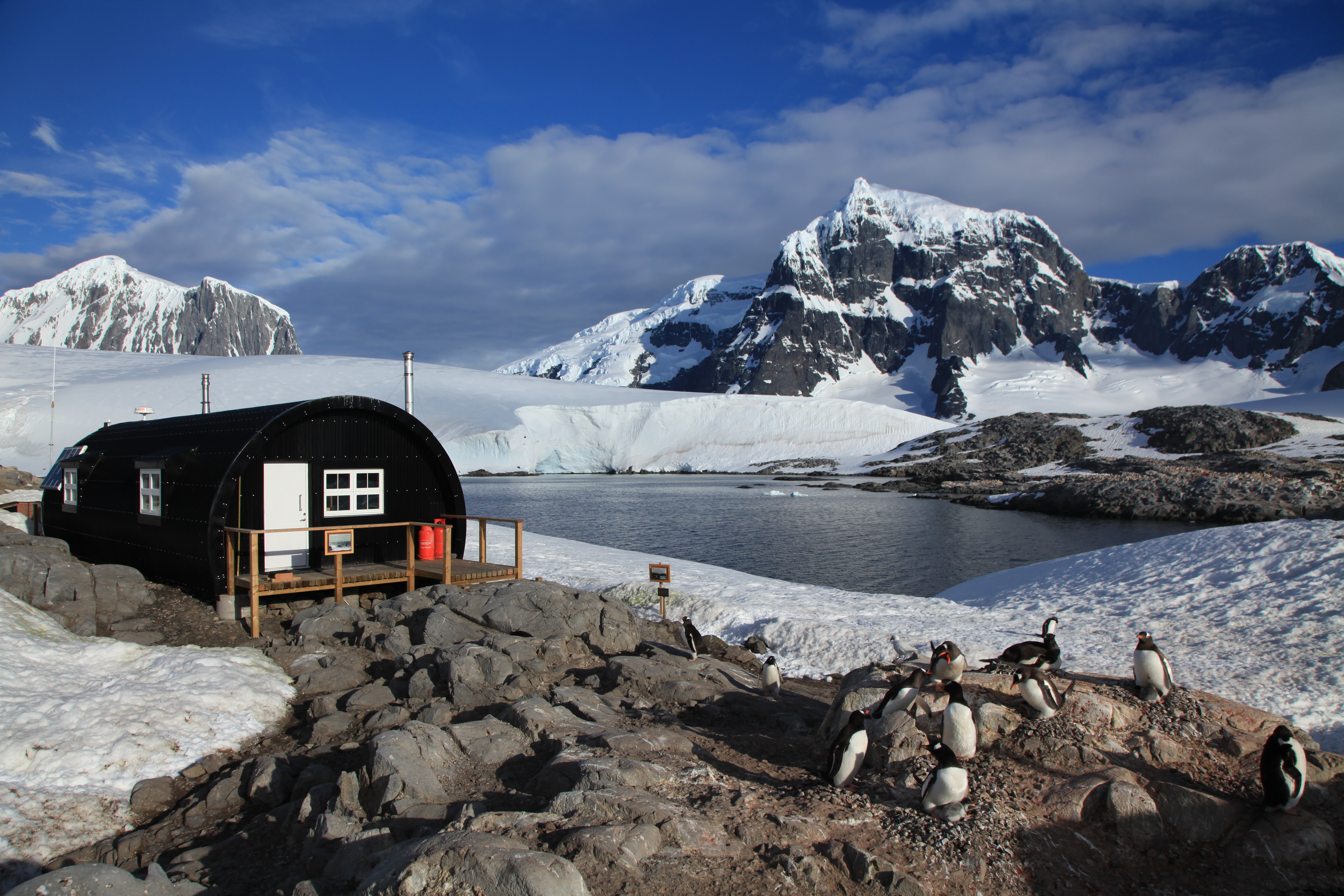 File british base a at port lockroy antarctica for Port lockroy