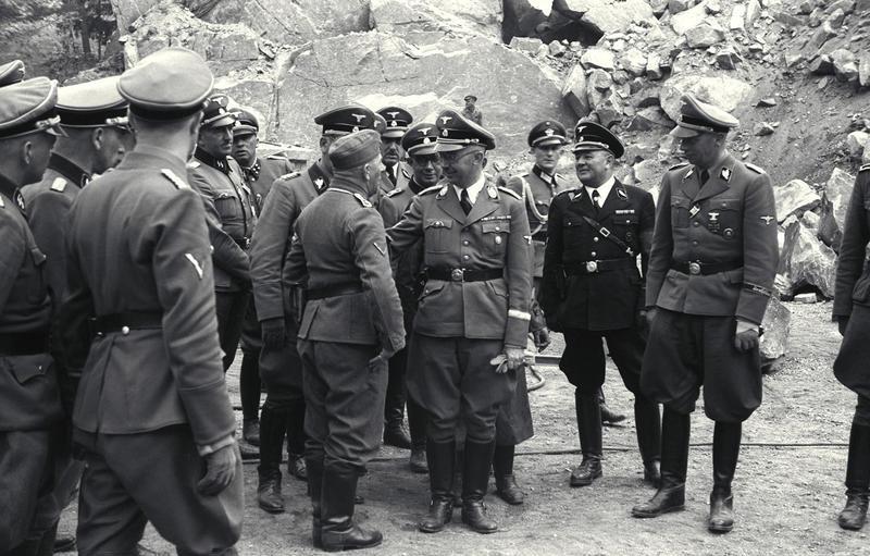 Visita de Himmler a Mauthausen