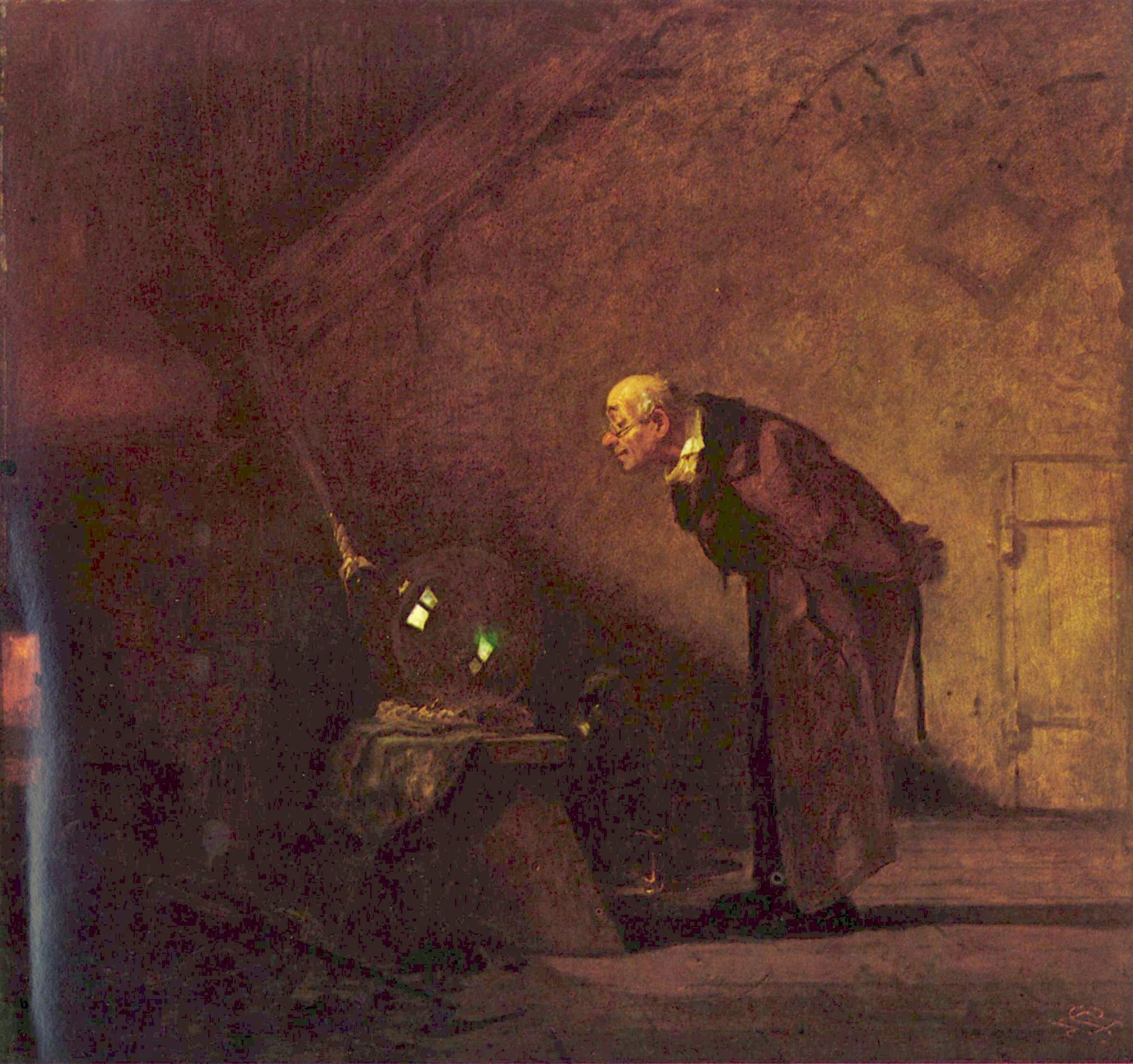 Carl Spitzweg [Public domain], via Wikimedia Commons