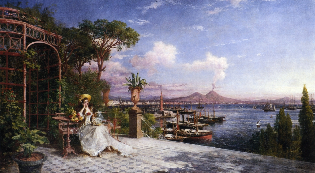 English: Lost in Reverie by The Bay of Naples ...