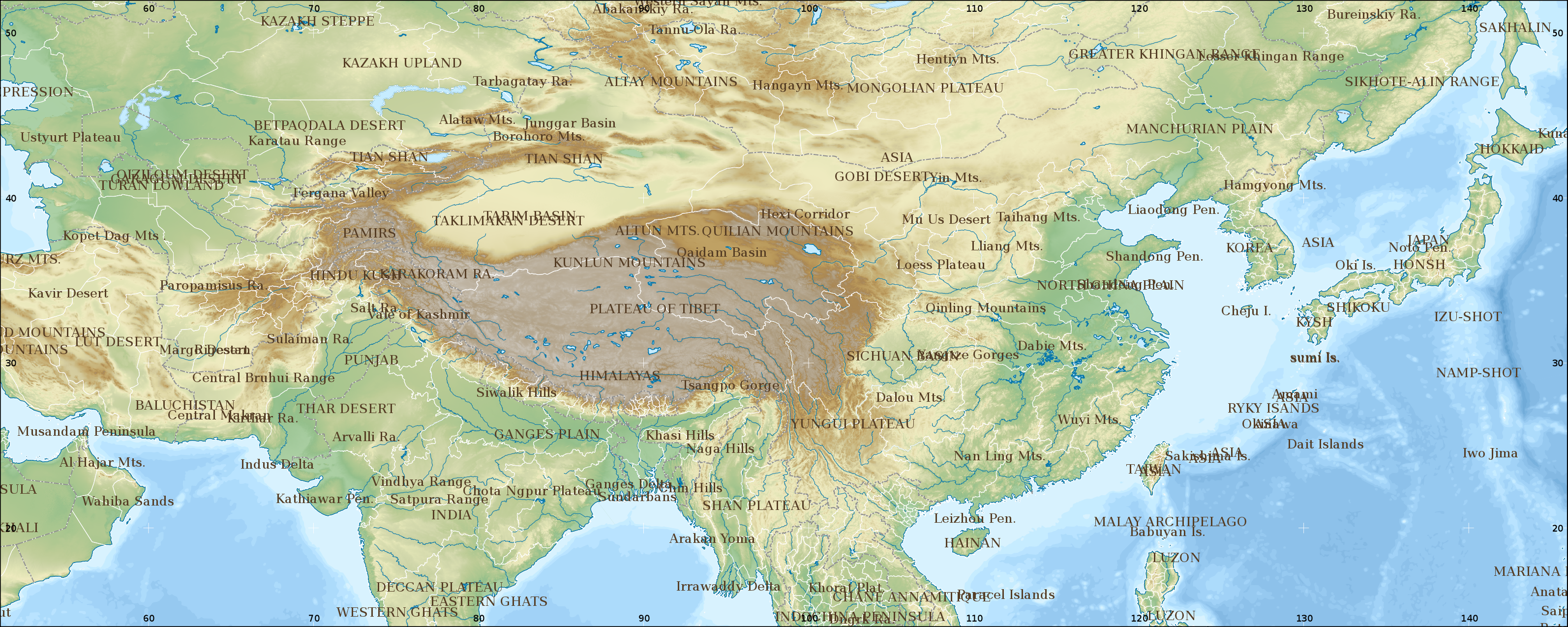 Wikipediagraphics labmap workshopchinagithub wikipedia mediachinese history large 51e146w 14n52n grey topography borders labelsg gumiabroncs Choice Image