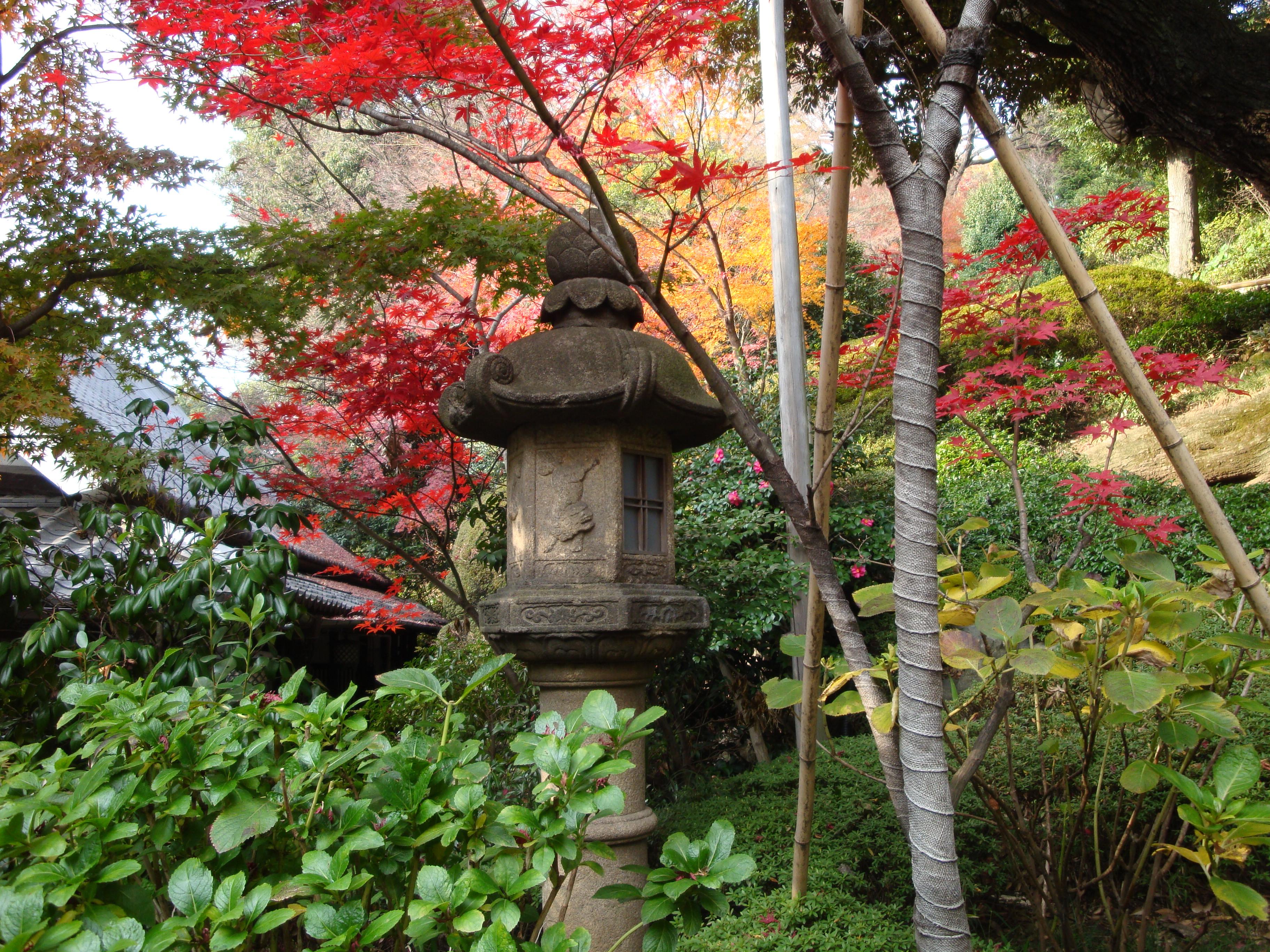 Chinzan-so Garden in Tokyo