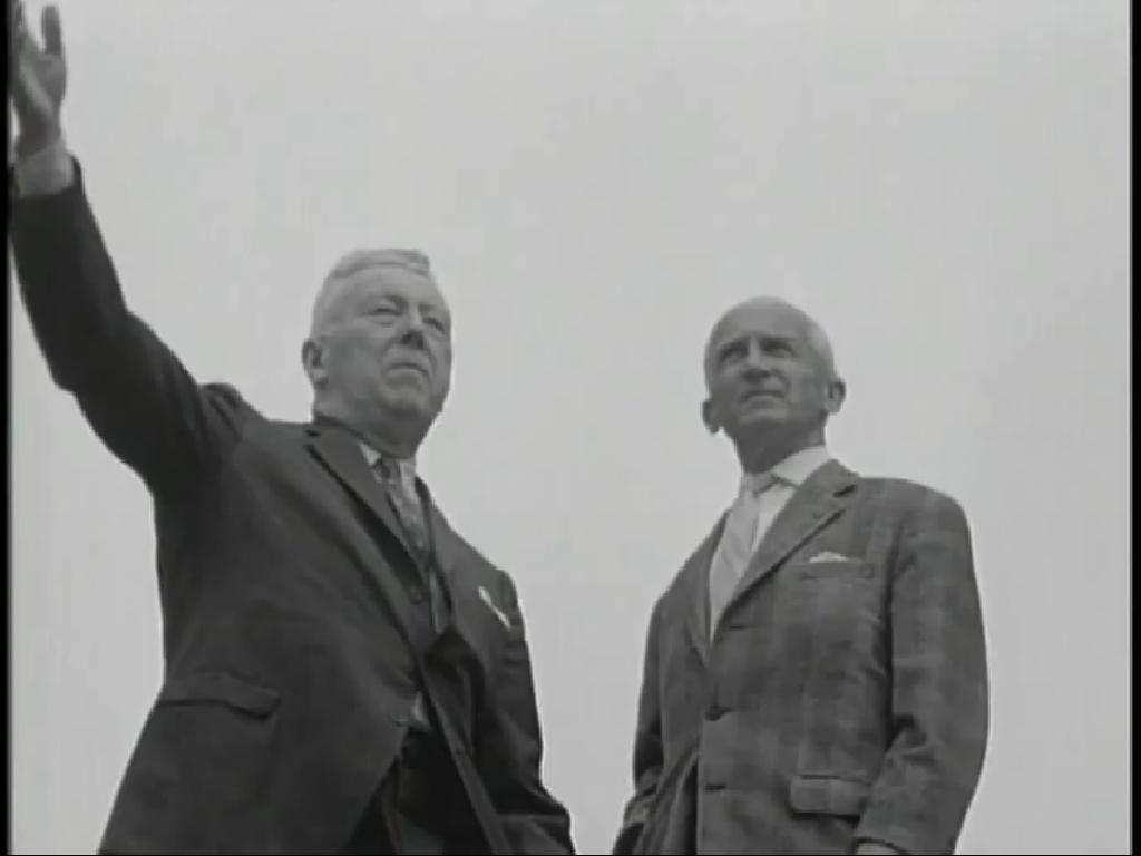 Bruce C. Clarke and Hasso von Manteuffel