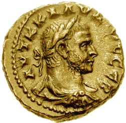 Claudius II coin from Wikipedia