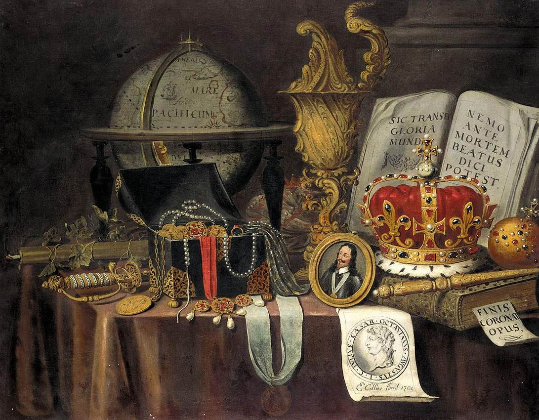 File:Collier, Evert - Vanitas Still-Life - 1705.jpg