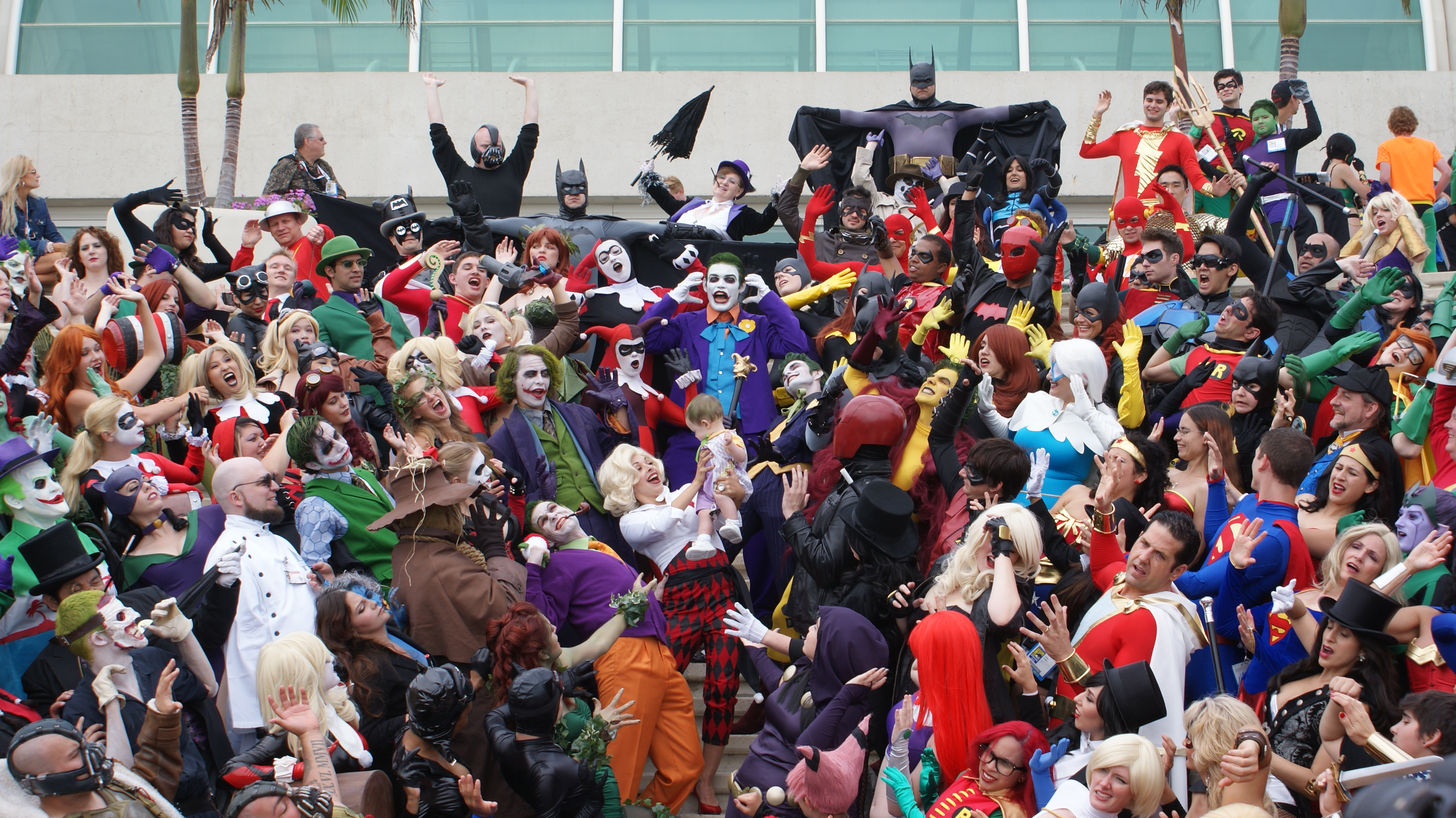 Anime Characters For Comic Con : File comic con  g wikimedia commons